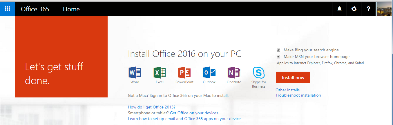 OCIO News: Office 2016 for Windows Available for Download
